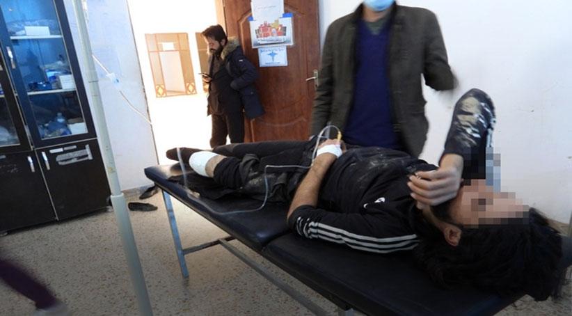 إصابات في صفوف المدنيين جراء القصف التركي لبلدة عين عيسى
