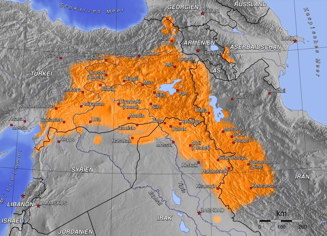 kurdistana mezin