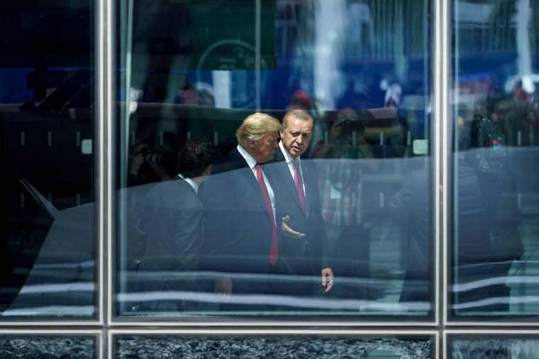 Trump u Erdogan