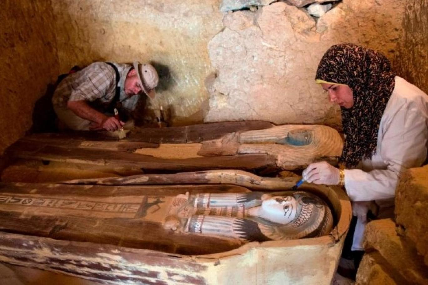 گورستانەکە 2200 سالی ل مسرێ تێ دیتن