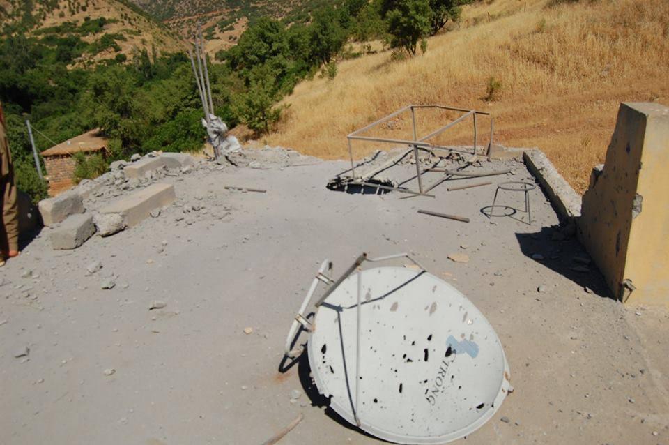 بالهفران PKK ل كانی ماسێ ههدهفكر و خانیێن 2 ولاتییان ههرفاندن