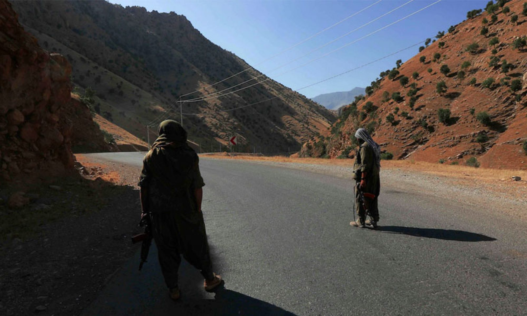 PKK Gerila turk kurd