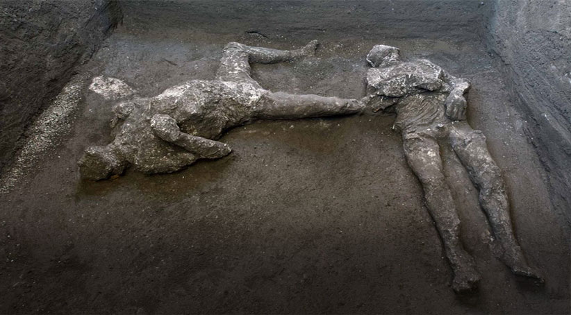 ل باژێرەکێ ئیتالیا دو تەرمێن 2000 سالی ھاتنە دیتن