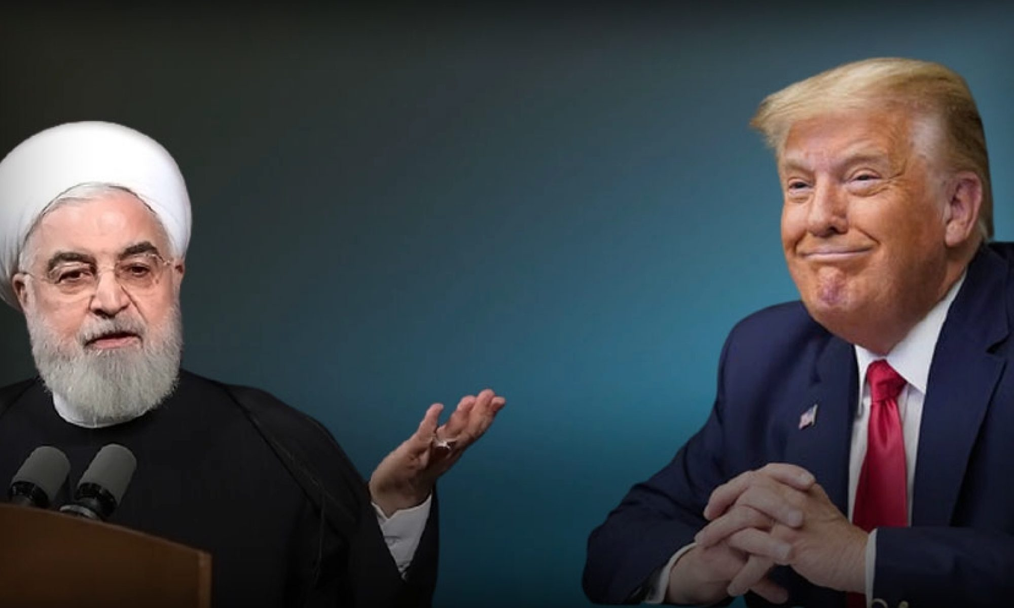 رۆحانی، ترامپ ب «تهرۆریستێ مێژوویی» ناڤ دكهت