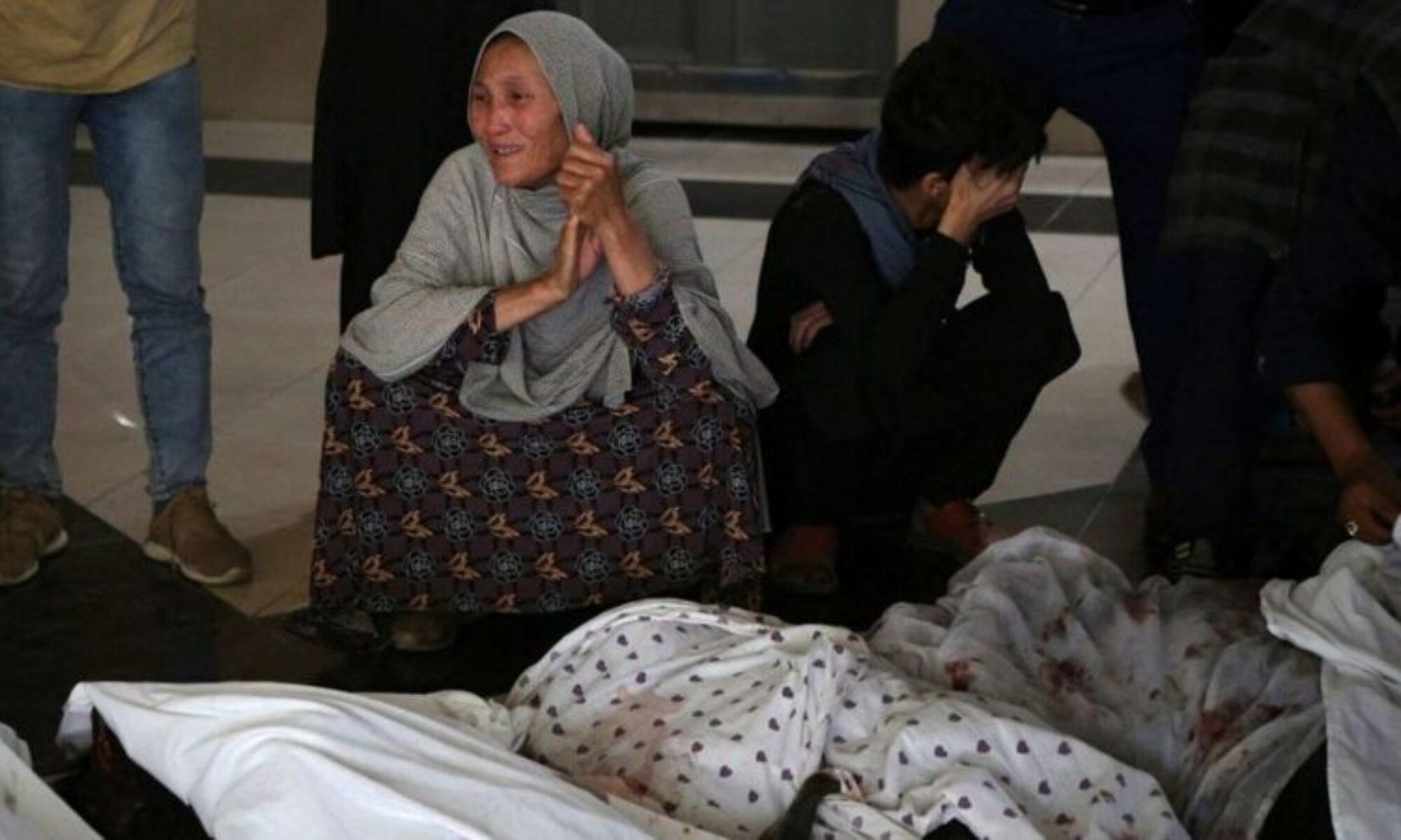د تەقینا ل بەر دەرێ قۆتابخانا کچان ل کابول 30 کەس ھاتنە کوشتن