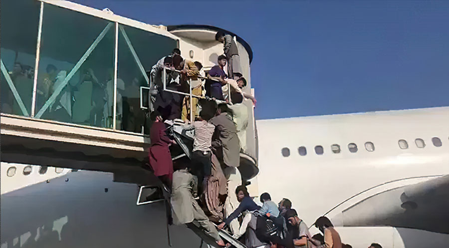 afghanistan airport kabul
