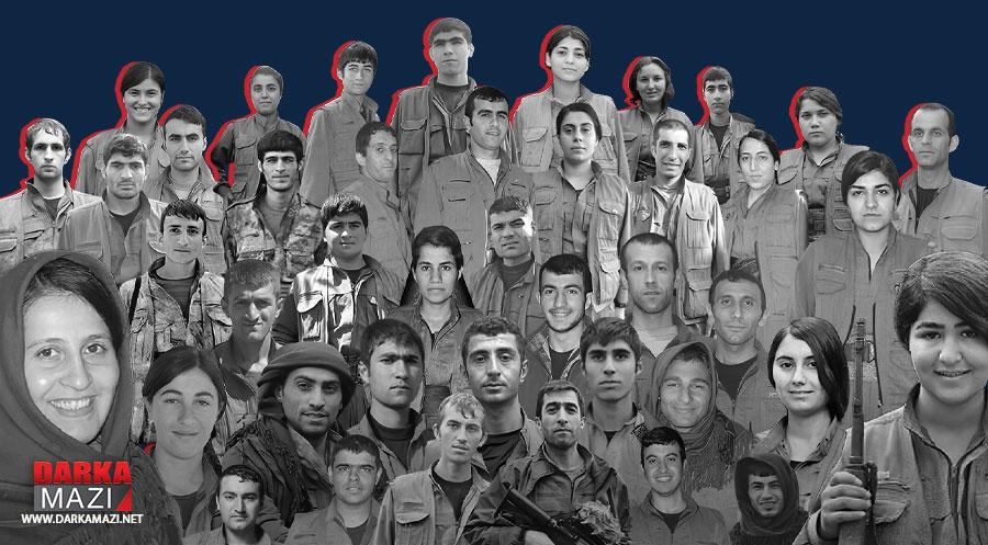 پهكهكه-گهریلا-قوربانیpkk-gerila-shahid-kurd-kurdistan-biratiya-gelan-victim